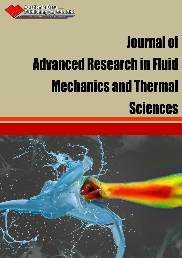View Vol. 82 No. 2: Journal of Advanced Research in Fluid Mechanics and Thermal Sciences, June (2021)